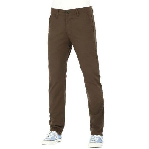 spodnie REELL - Straight Flex Chino PC Dark Brown (151) rozmiar: 36/34