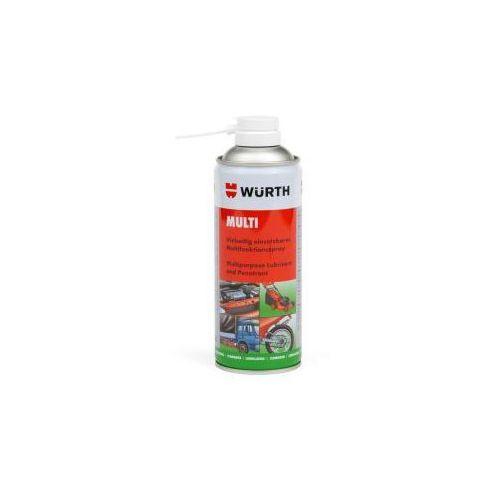 Płynny smar wielofunkcyjny MULTI WURTH 400ml, 089305540037