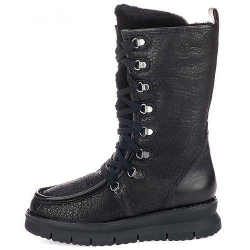 bc5299d880eef Geox kozaki damskie Porthya 41 czarne, k... Producent Geox; Kolor czarny
