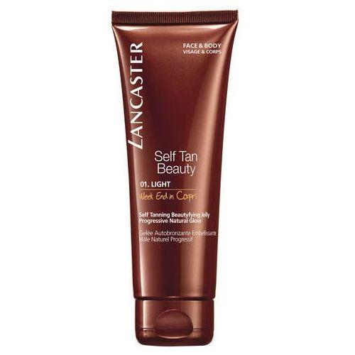 self tan beauty samoopalający żel do ciała i twarzy odcień 01 light (week end in capri) 125 ml marki Lancaster