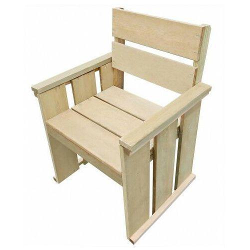 vidaXL Krzesło do ogrodu, impregnowane drewno sosnowe FSC, 61x56x89 cm, vidaxl_44909