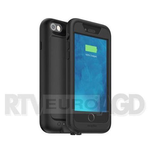Wodoszczelne etui MOPHIE Juice Pack H2PRO z baterią 2750mAh do iPhone 6/6s Czarny (0810472030692)