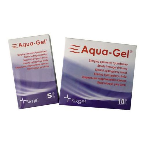 Kikgel Aqua-gel opatrunek hydrożelowy 22 x 28cm x 1szt.