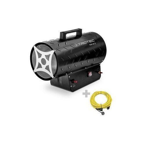 Nagrzewnica gazowa TGH 31 E z przedłużaczem 20 m / 230 V / 2,5 mm²