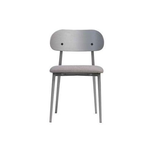 Woood Zestaw 2 krzeseł CLASS szare 375793-G, kolor szary