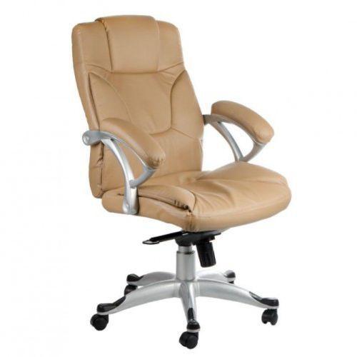 Fotel bx-5786 kremowy marki Corpocomfort