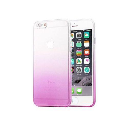 Etui Alogy ombre case Apple iPhone 6 / 6s Fioletowe + Szkło - Fioletowy