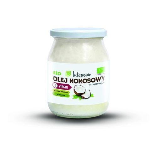 Intenson bio olej kokosowy nierafinowany - 500ml