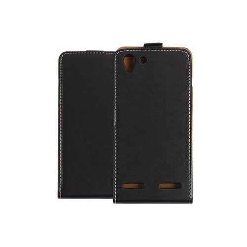 Lenovo Vibe K5 - etui na telefon Forcell Slim Flexi - czarny