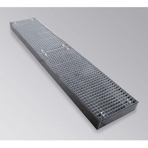 Wanna płaska z ocynkowanej stali, szer. 500 mm, dł. 2500 mm, pojemność 100 l. id marki Unbekannt
