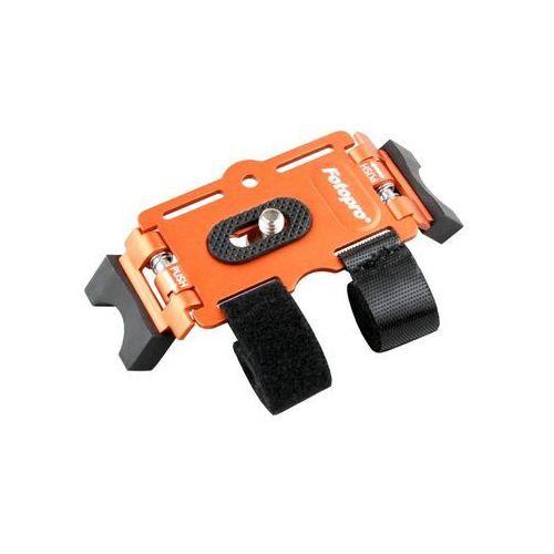 Mini statyw Fotopro Active Mount AM-801 pomarańczowy - uchwyt na rower