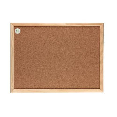 Tablica korkowa 80x120 drewno 2x3 TC128/C