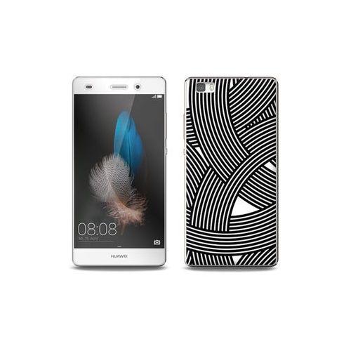 Etuo full body slim fantastic Huawei p8 lite - etui na telefon full body slim fantastic - biało-czarna mozaika