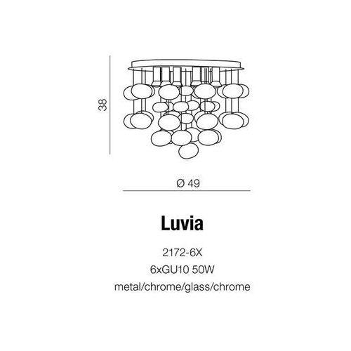 Lampa wisząca luvia / 2172-6x marki Azzardo