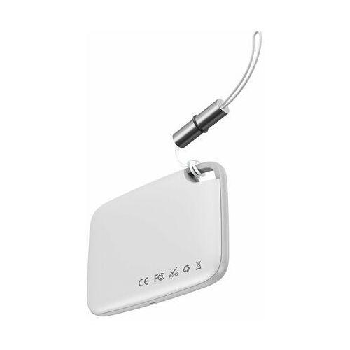 Baseus T2 brelok mini bezprzewodowy lokalizator do kluczy i innych przedmiotów biały (ZLFDQT2-02) - Biały (6953156214934)