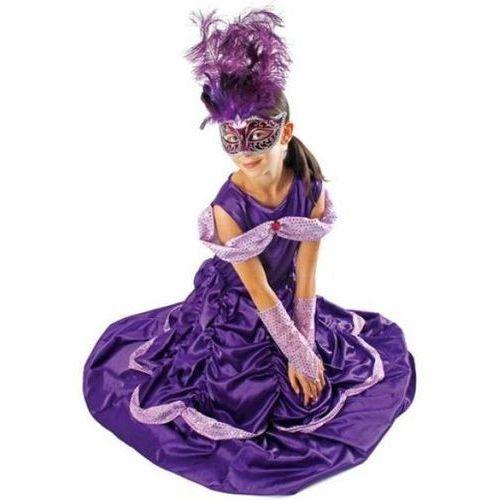 """Strój dla dzieci """"bella lux"""", fioletowa, , rozm. 110/116 cm marki Kraszek"""