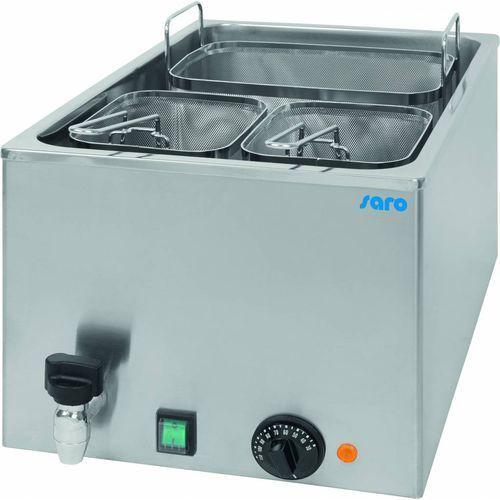 Elektryczne urządzenie do gotowania makaronu nastawne pasta 25 | 25l | 3200w | 230v | 340x540x(h)280mm marki Saro
