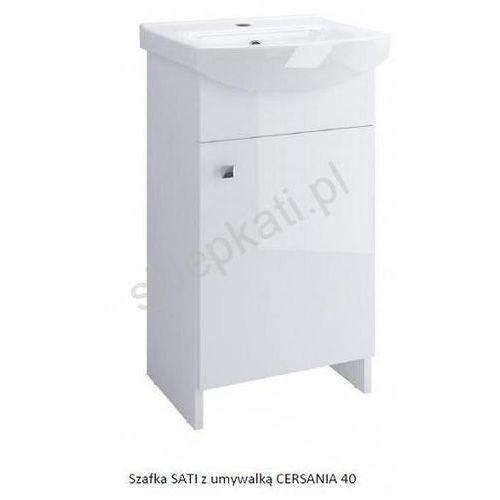 CERSANIT Szafka Sati + umywalka Cersania 40 (5907720668433)