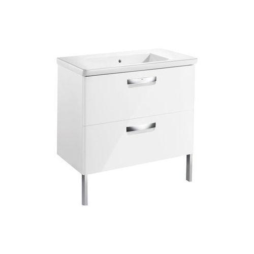 ROCA GAP-N zestaw UNIK 80: umywalka + szafka, kolor BIAŁY POŁYSK A855998806 (8433290394269)