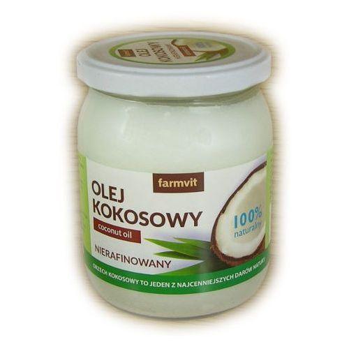 Olej kokosowy 100% naturalny 500ml Farmvit