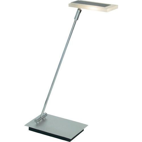Lampa biurkowa led g92941/22, led wbudowany na stałe, 220 lm, chrom, szary marki Brilliant