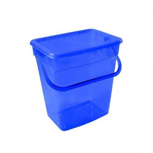 Pojemnik na proszek 10 l niebieski marki Plast team