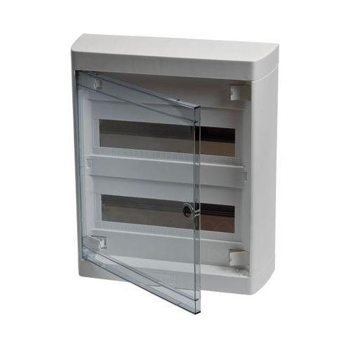 Legrand Rozdzielnica nedbox 2 x 12 drzwi transparentne 601247