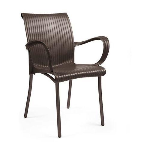 Krzesło Dama brązowe