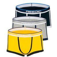 Bokserki męskie multikolor-1 denley g514 3 pack marki Reedic