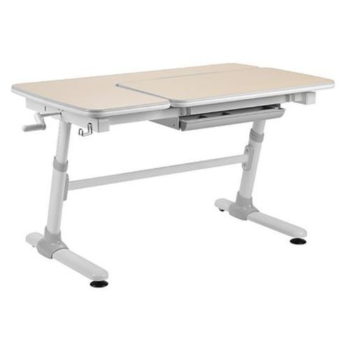 Invito grey - ergonomiczne, regulowane biurko dziecięce marki Fundesk