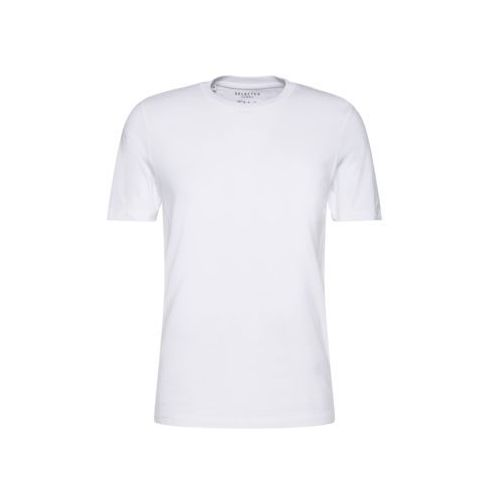 Selected Homme THEPERFECT Tshirt basic bright white, bawełna