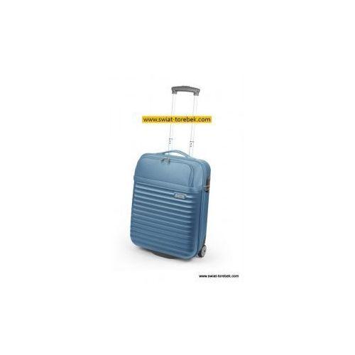 MODO by Roncato walizka mała/ kabinowa z kolekcji SPACE twarda 2 koła materiał ABS/ Poliwęglan zamek szyfrowy TSA z miejscem na laptopa 15'6