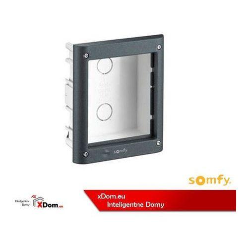 9020020 aluminiowa puszka podtynkowa dla 1 modułu marki Somfy