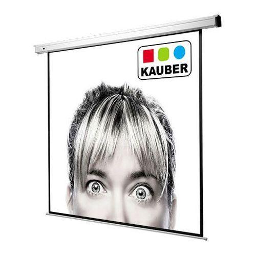 Ekran elektryczny - econo electric 244x183cm (238x178) - matt white marki Kauber
