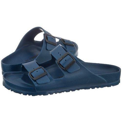 Klapki Birkenstock Arizona Granatowe 0129431 (BK40-b), kolor niebieski