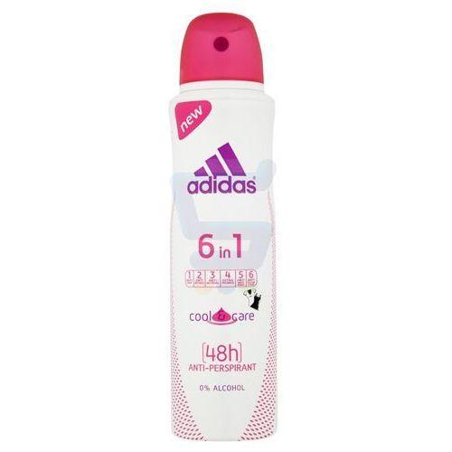 Adidas Cool & Care 6w1 Women 150 ml dezodorant spray (3607343508810)