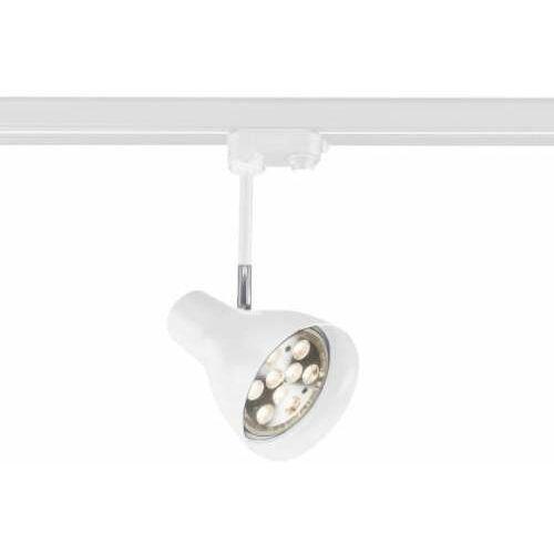 Shilo Lampa sufitowa mima 7707 regulowana oprawa reflektorek do 3-fazowego systemu szynowego biały