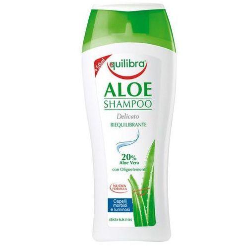 naturale szampon aloesowy do włosów 250ml - beauty formulas marki Equilibra