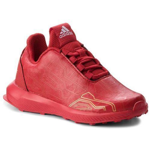 Buty adidas - RapidaRun Avengers K AH2439 Scarle/Scarle/Magold