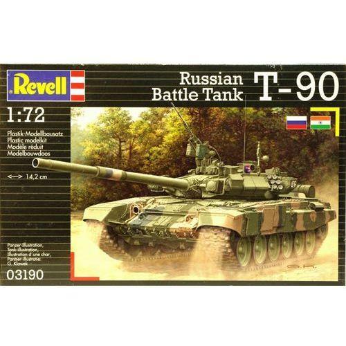 Revell Russian battle tank t-90 -