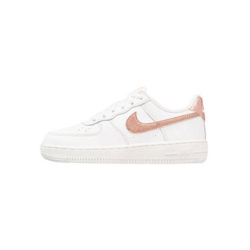 Nike Sportswear FORCE 1 (PS) Tenisówki i Trampki summit white/metallic red bronze, kolor biały