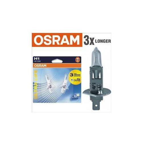 Żarówka samochodowa Osram 12V H1 55W P14.5s 1 szt Ultra Life 3x dłuższa żywotność - OKAZJE