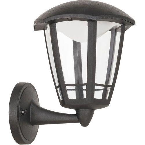 Kinkiet Rabalux Sorrento 8126 lampa ogrodowa zewnętrzna 1x8W LED IP44 czarny matowy (5998250381268)
