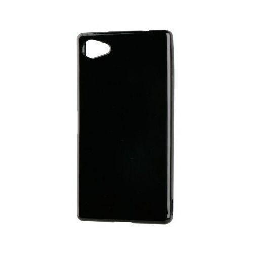 Etui XQISIT do Sony Xperia Z5 Compact Flex Case Czarny + Zamów z DOSTAWĄ JUTRO!, kolor czarny