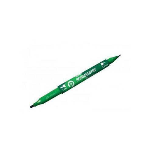Marker permanentny km501 okrągły zielony marki Tetis