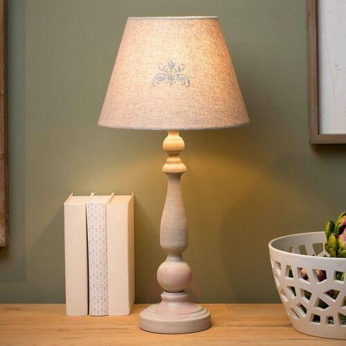Lucide robin 34539/81/41 lampa stołowa lampka 1x40w e27 szary