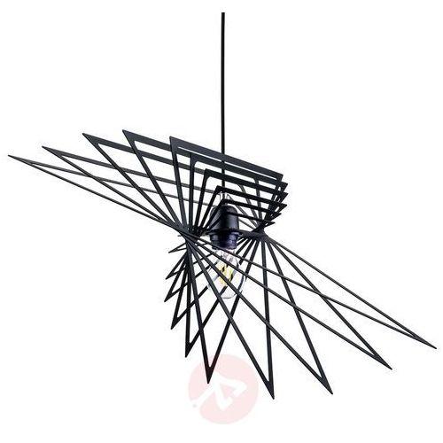 Lampa oprawa wisząca Spot Light Planet 1x60W E27 czarna 1872104 (5901602346969)