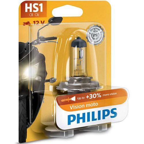 Żarówka Motocyklowa Philips® HS1 Vision Moto | Blister 1 szt.