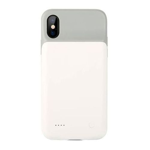 Etui Benks Elegant Battery Case Apple Iphone X - White - White, kolor biały