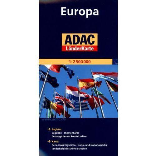 Europa. ADAC LanderKarte 1:2 500 000, ADAC